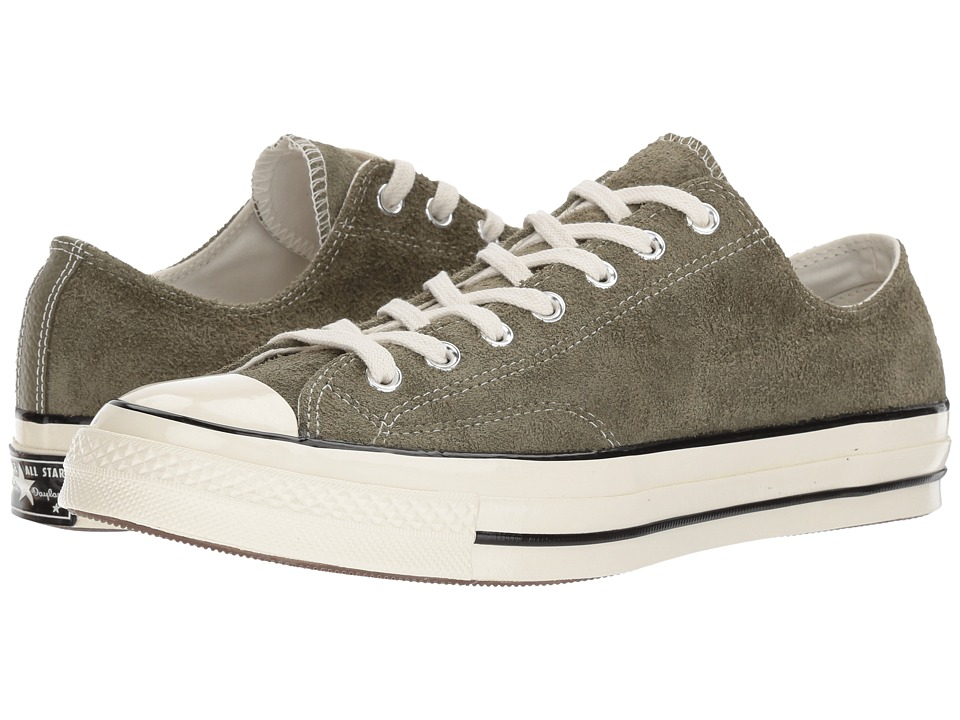 Converse - Chuck Taylor All Star 70 Ox (Medium Olive/Egret/Egret) Classic Shoes