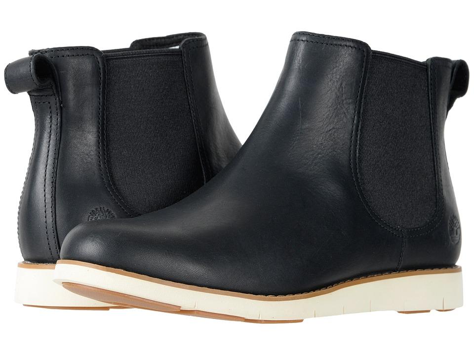 Timberland Lakeville Chelsea Boot (Black Full-Grain) Women