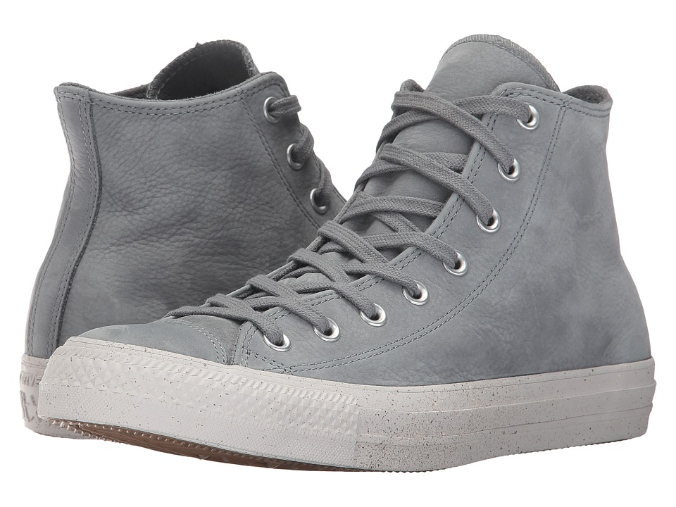 Converse Chuck Taylor All Star Nubuck Hi (Cool Grey/Malted/Pale Putty) Classic Shoes