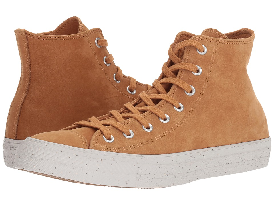 Converse Chuck Taylor All Star Nubuck Hi (Raw Sugar/Malted/Pale Putty) Classic Shoes