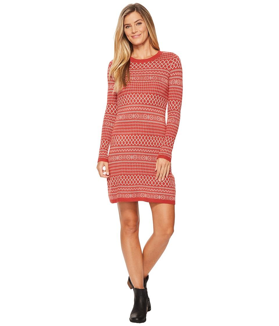 Aventura Clothing Fallon Dress (Tandori Spice/Oatmeal) Women