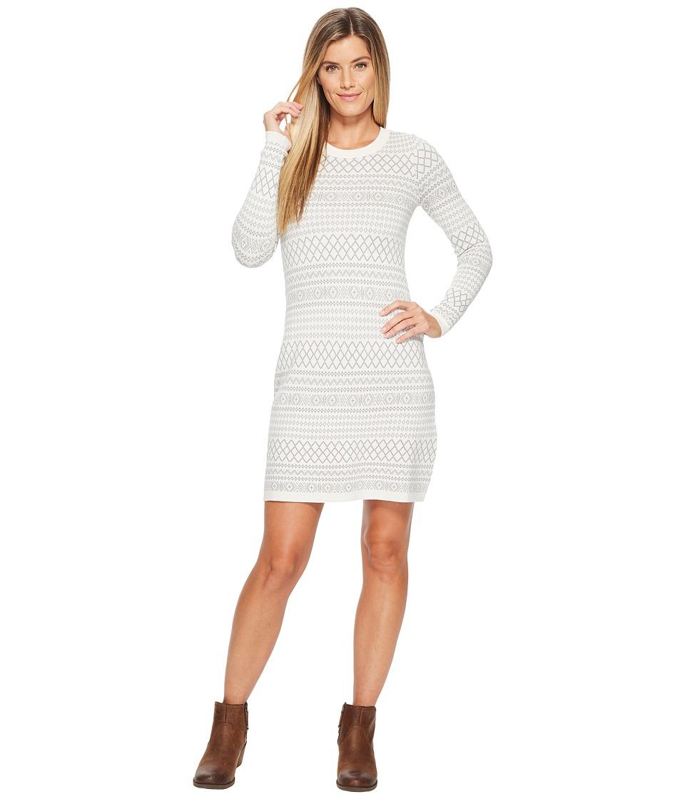 Aventura Clothing Fallon Dress (Whisper White/Griffin Grey) Women