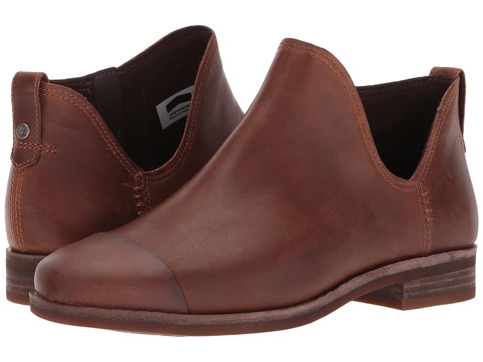 Timberland Somers Falls Ankle Boot (Medium Brown Full-Grain) Women