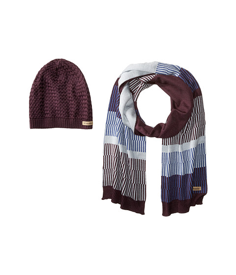 Columbia Frosty Hat & Scarf Set - Dusty Purple