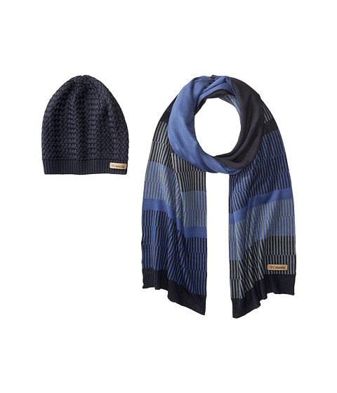 Columbia Frosty Hat & Scarf Set - India Ink