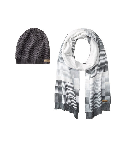 Columbia Frosty Hat & Scarf Set - Graphite