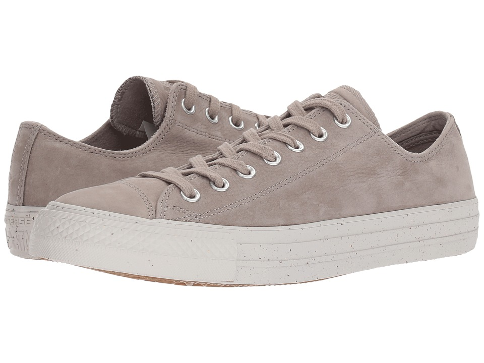 Converse Chuck Taylor All Star Nubuck Ox (Malted/Engine Smoke/Pale Putty) Athletic Shoes
