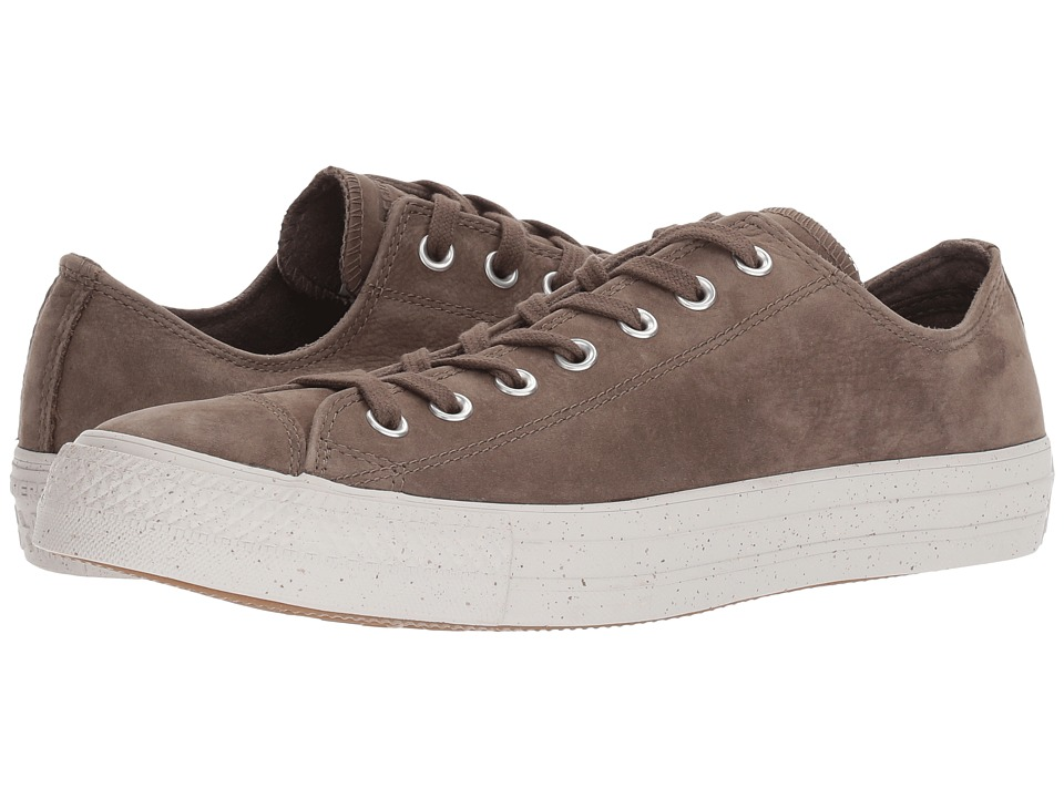 Converse Chuck Taylor All Star Nubuck Ox (Engine Smoke/Malted/Pale Putty) Athletic Shoes
