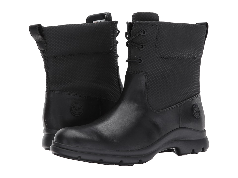 Timberland Turain Waterproof Ankle Boot (Black Leather) Women