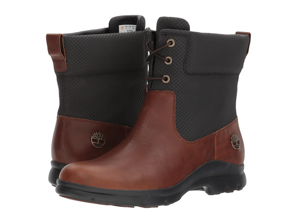 Timberland Turain Waterproof Ankle Boot (Medium Brown TecTuff Leather) Women