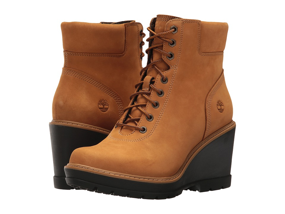 Timberland Kellis Ankle Boot (Wheat Nubuck) Women