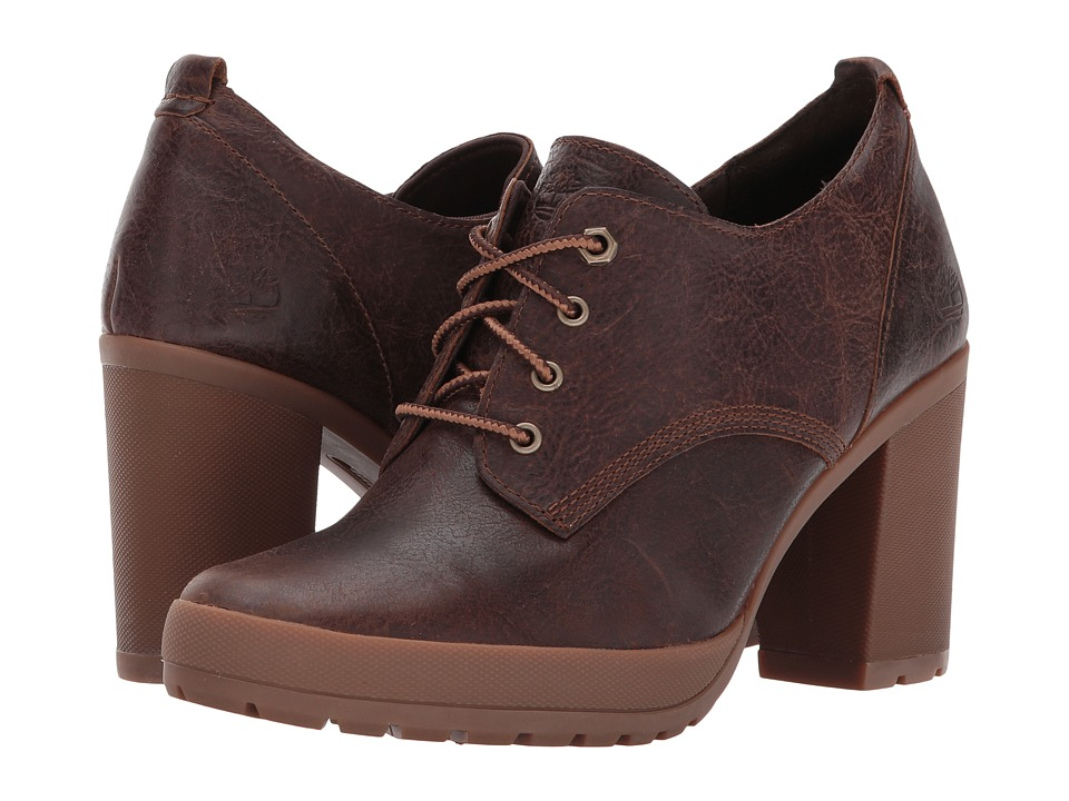 Timberland Camdale Oxford (Medium Brown Full-Grain) High Heels