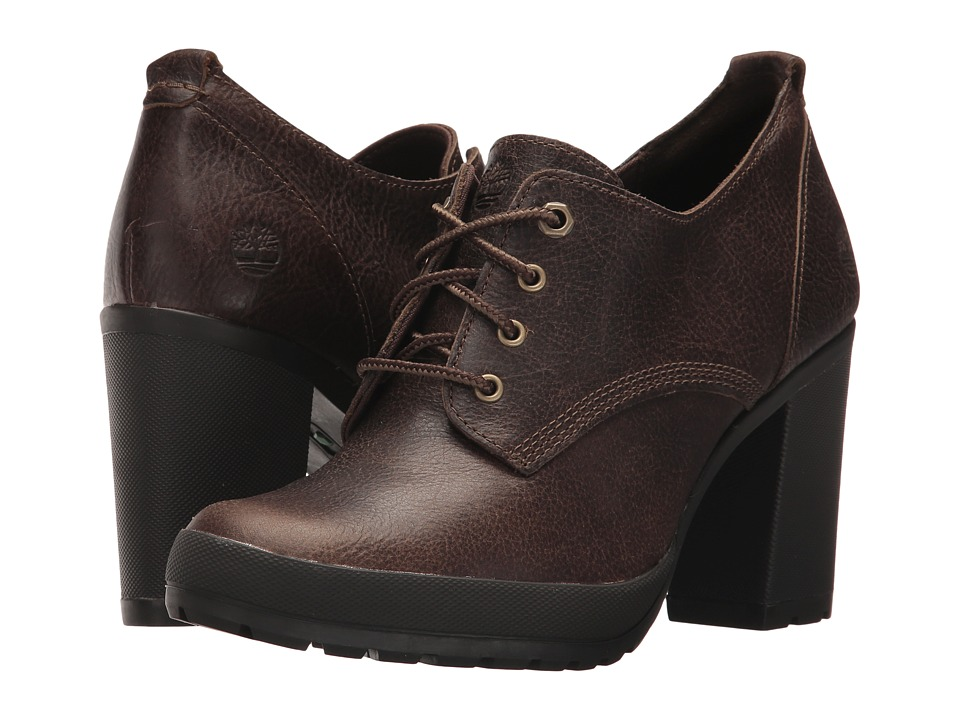 Timberland Camdale Oxford (Olive Full-Grain) High Heels