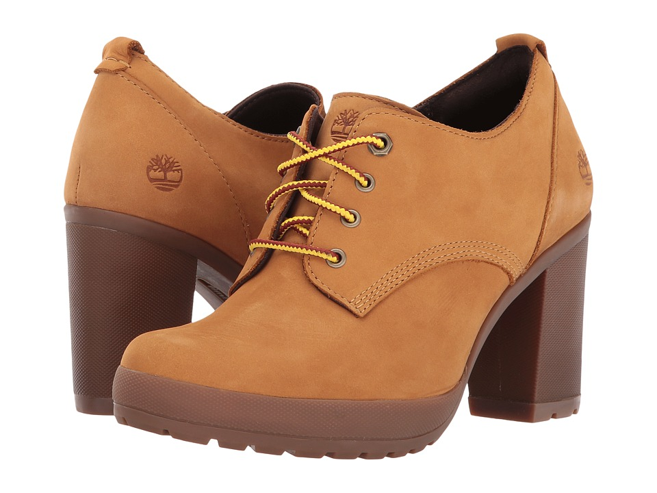 Timberland Camdale Oxford (Wheat Nubuck) High Heels