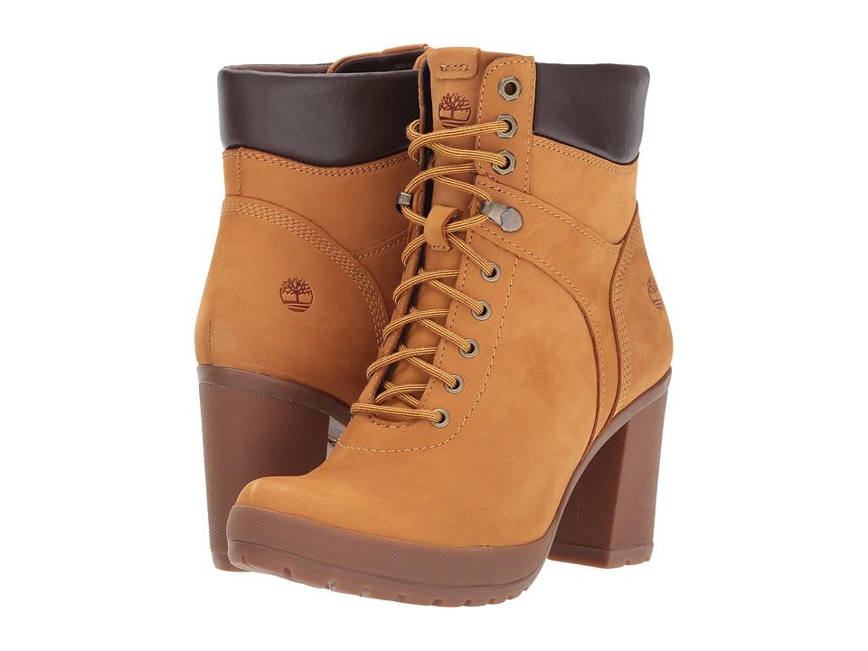 Timberland Camdale Field Boot (Wheat Nubuck) Women