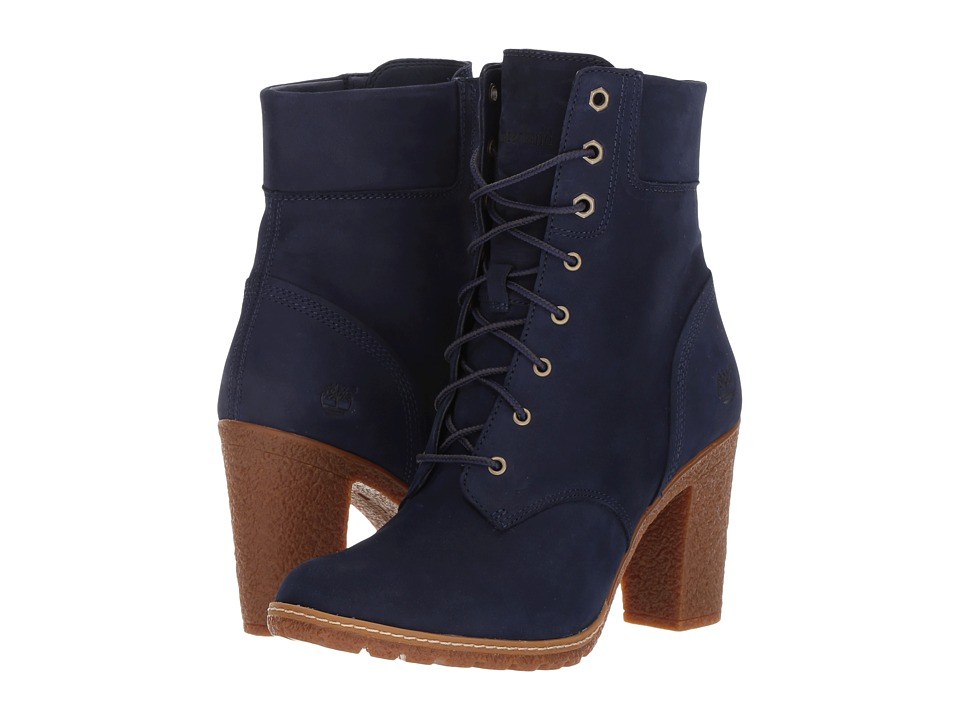 Timberland Earthkeepers(r) Glancy 6 Boot (Dark Blue Nubuck) Women
