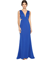 Adrianna Papell - Sleeveless Jersey Gown w/ Cutouts