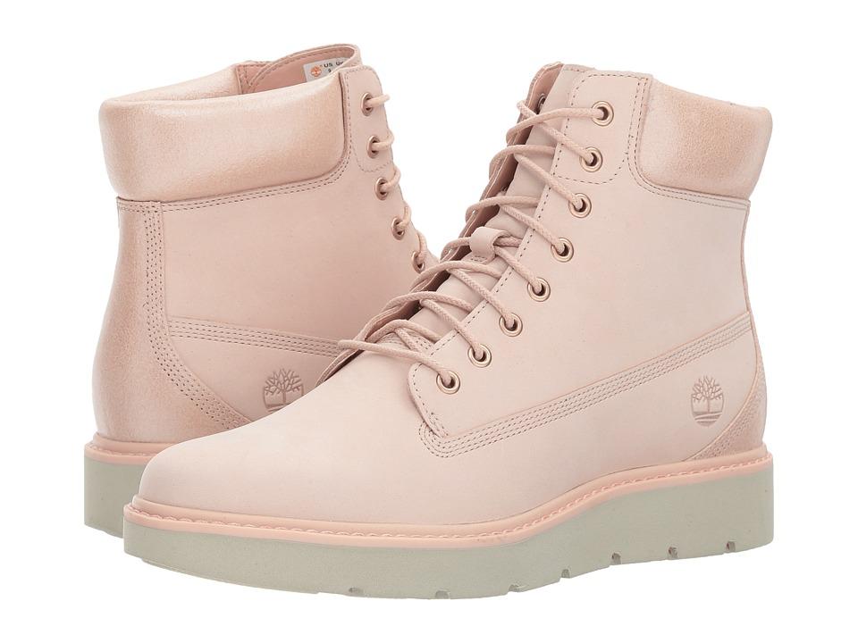 Timberland Kenniston 6 Lace-Up Boot (Light Pink Nubuck) Women