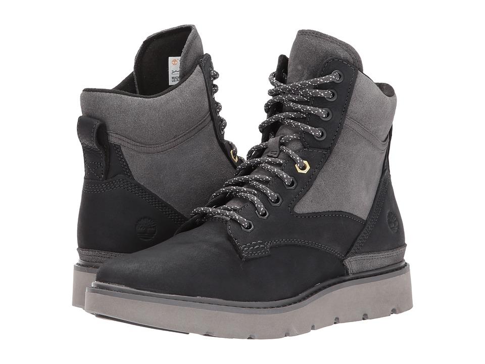 Timberland Kenniston Mid Hiker Boot (Dark Grey Nubuck) Women