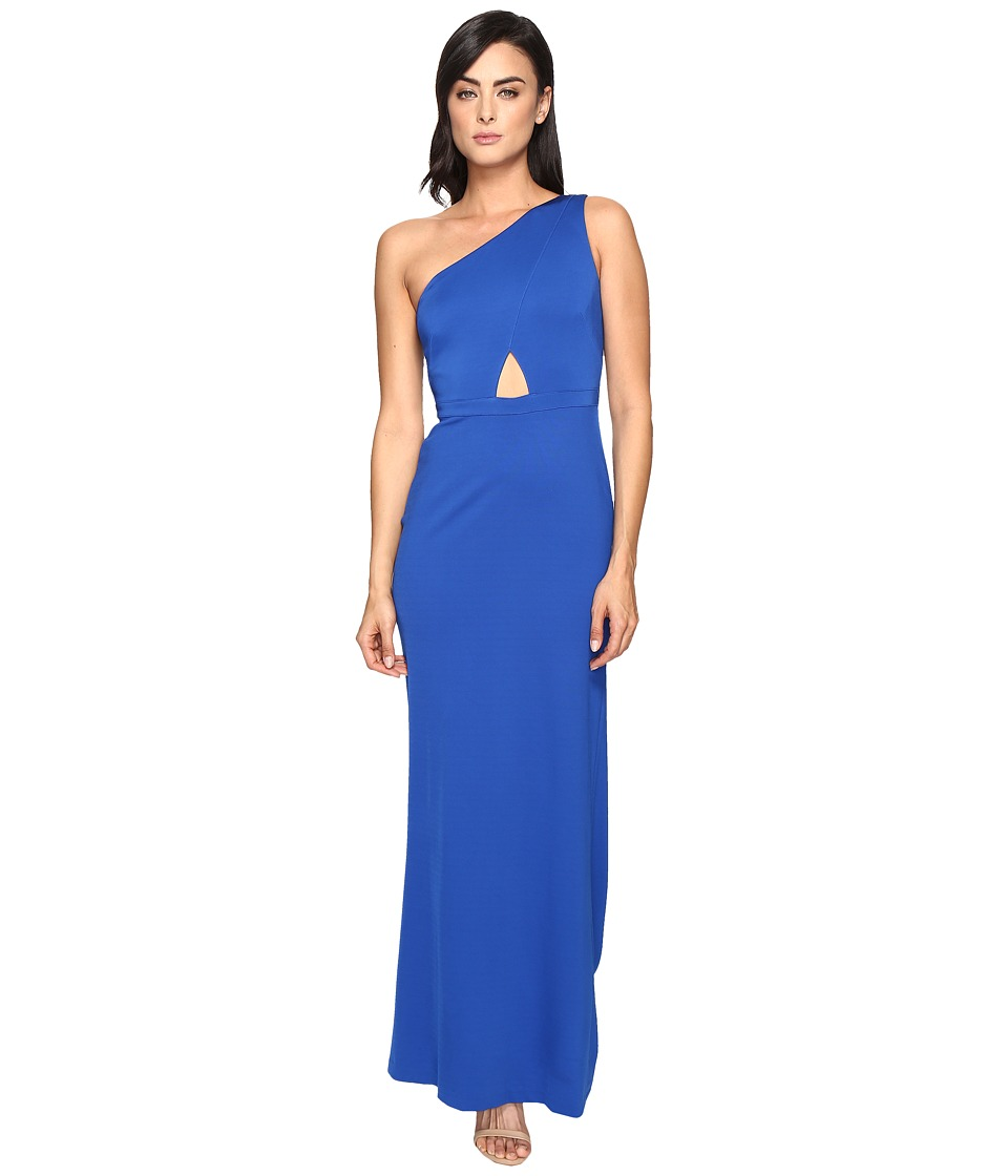 Adrianna Papell - Jersey One Shoulder Gown w/ Cutout
