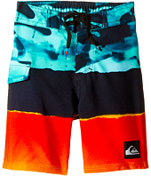 Quiksilver Kids - Blocked Resin Camo Boardshorts (Toddler/Little Kid)