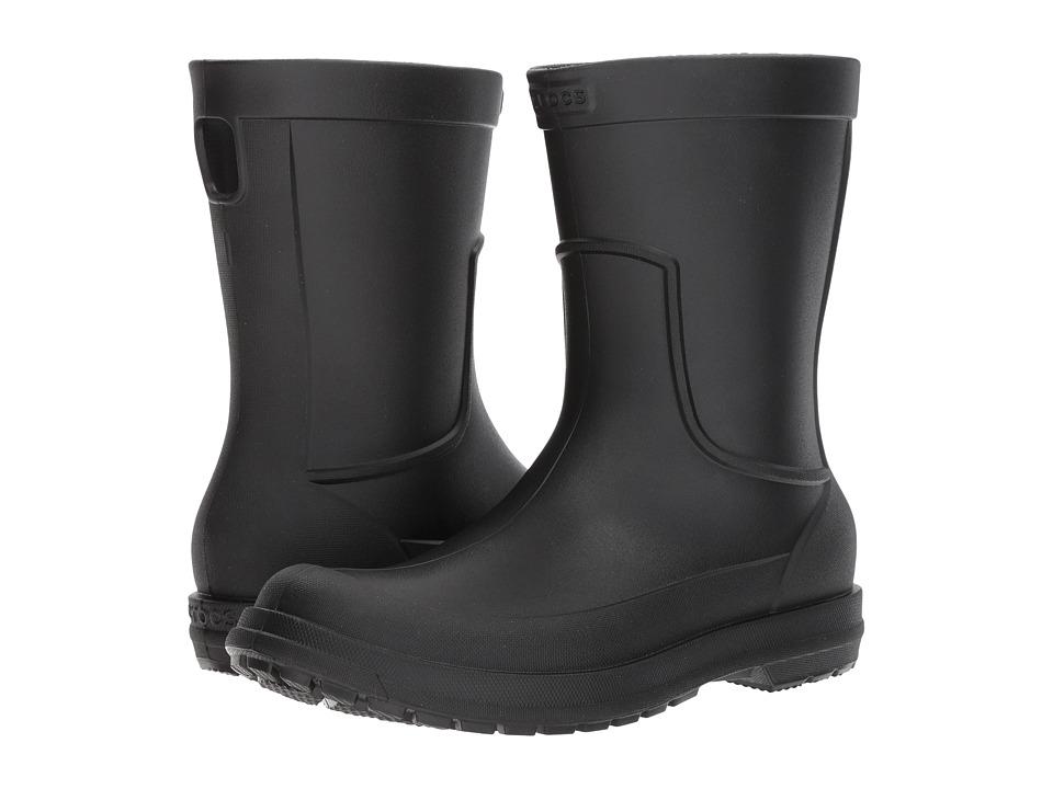 Crocs - AllCast Rain Boot (Black/Black) Mens Boots