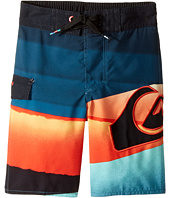 Quiksilver Kids - Slash Logo Boardshorts (Toddler/Little Kids)