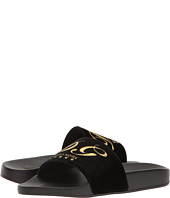Dolce & Gabbana - Rubberized Leather DG Pool Slide