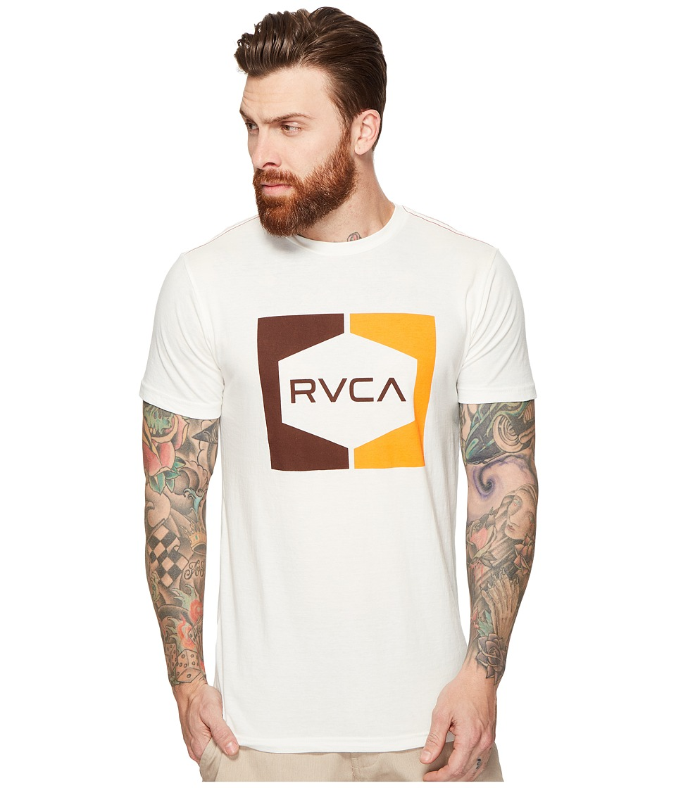 RVCA Invert Hex Tee (Antique White) Men