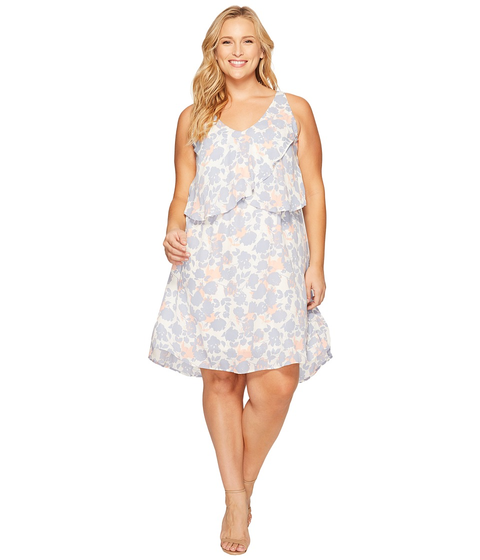 B Collection by Bobeau Curvy - Plus Size Lane Double V Woven Dress