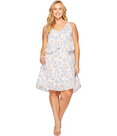 B Collection by Bobeau Curvy - Plus Size Lane Double V Woven Dress