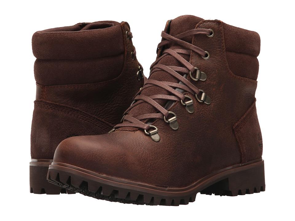 Timberland Wheelwright Waterproof Hiker (Medium Brown Full-Grain) Women