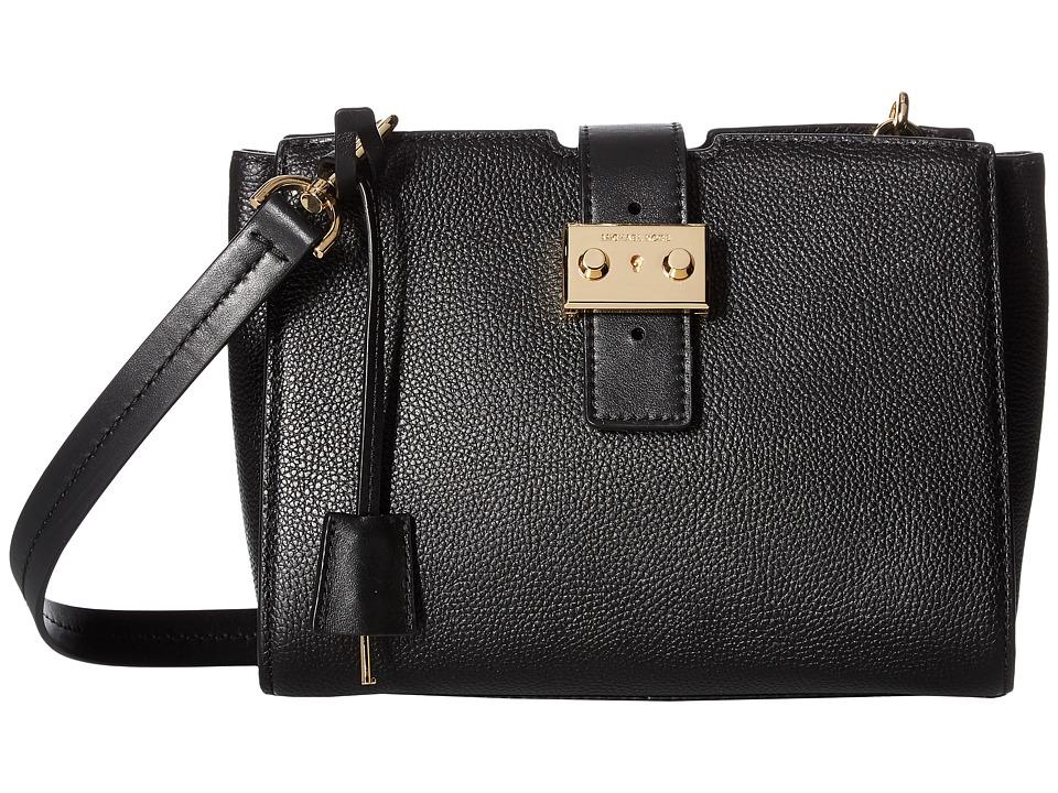 MICHAEL Michael Kors Bond Medium Messenger (Black) Messenger Bags