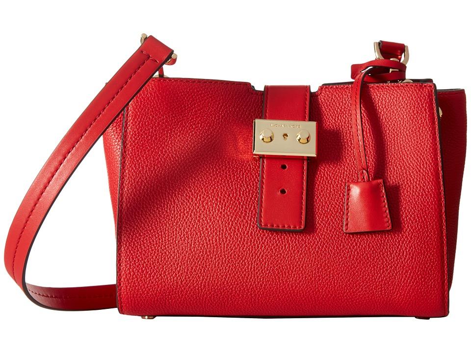 MICHAEL Michael Kors Bond Medium Messenger (Bright Red) Messenger Bags