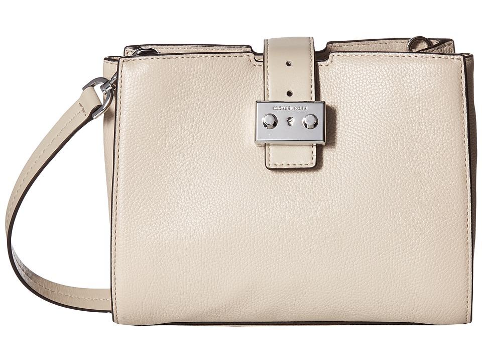 MICHAEL Michael Kors Bond Medium Messenger (Cement) Messenger Bags