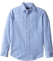 Tommy Hilfiger Kids - Alternating Gingham Shirt (Big Kids)