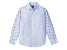 Tommy Hilfiger Kids Double Twill Stripe Shirt (Big Kids)