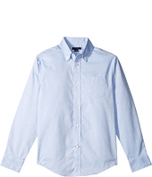 Tommy Hilfiger Kids - Pinpoint Oxford Shirt (Big Kids)