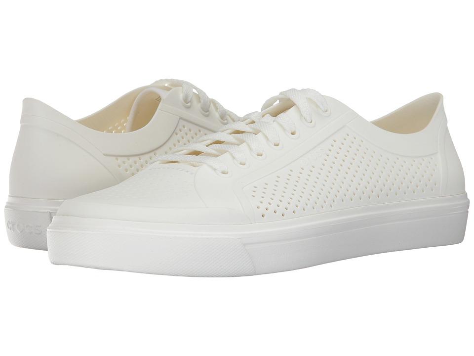 Crocs CitiLane Roka Court (White/White) Men