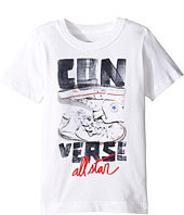 Converse Kids - Stack Chucks Tee (Toddler/Little Kids)