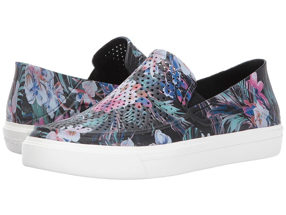Crocs - CitiLane Roka Graphic Slip-On (Tropical) Women's Slip on  Shoes