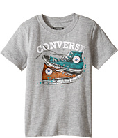Converse Kids - Mix Match Chucks Tee (Toddler/Little Kids)
