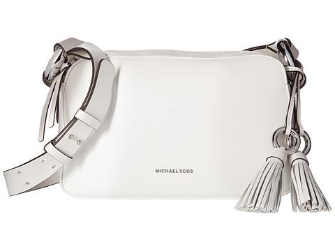 MICHAEL Michael Kors Grand Medium Shoulder - Optic White