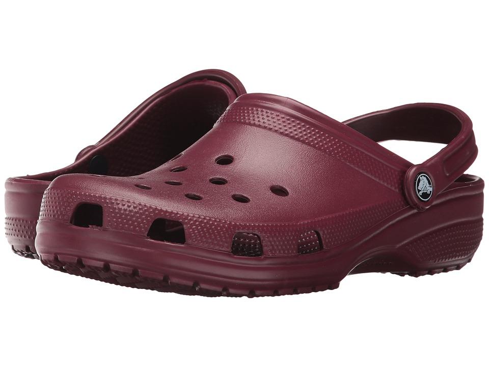 Crocs Classic Clog (Garnet) Clog Shoes