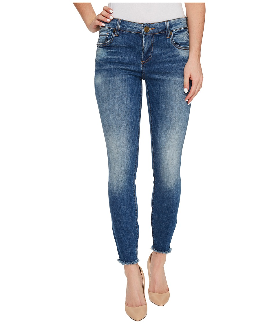 KUT from the Kloth Connie Ankle Skinny-Fray Hem in Historic (Historic) Women