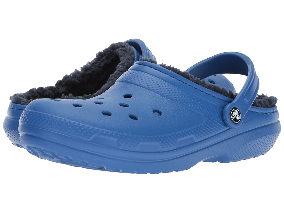 Crocs Classic Lined Clog (Blue Jean/Navy) Clog Shoes