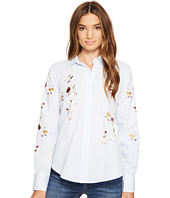 Blank NYC - Embroidered Shirt in In Bloom