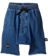 Nununu - Denim Oversized Shorts (Toddler/Little Kids)