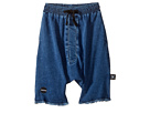 Nununu - Denim Oversized Shorts (Little Kids/Big Kids)