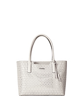 Calvin Klein - Perforated Novelty Leather Tote